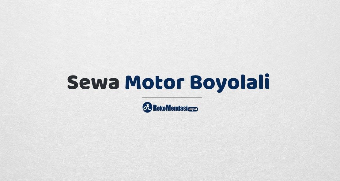 Sewa Motor Boyolali