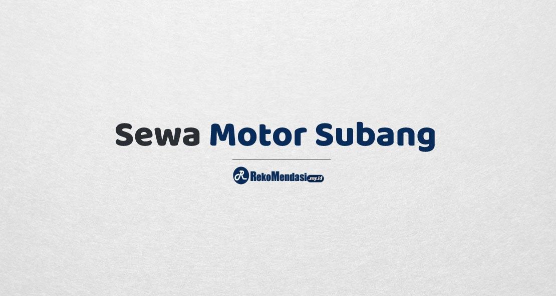 Sewa Motor Subang