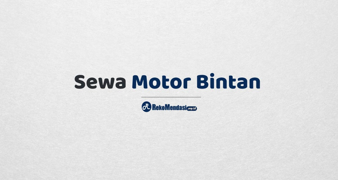 Sewa Motor Bintan