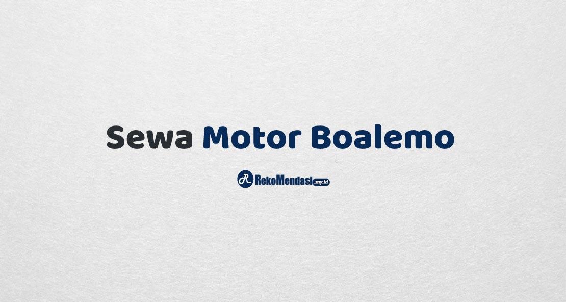 Sewa Motor Boalemo