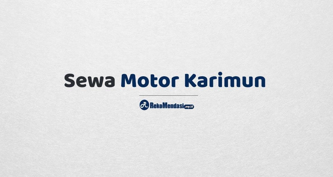 Sewa Motor Karimun