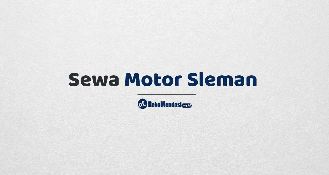 Sewa Motor Sleman