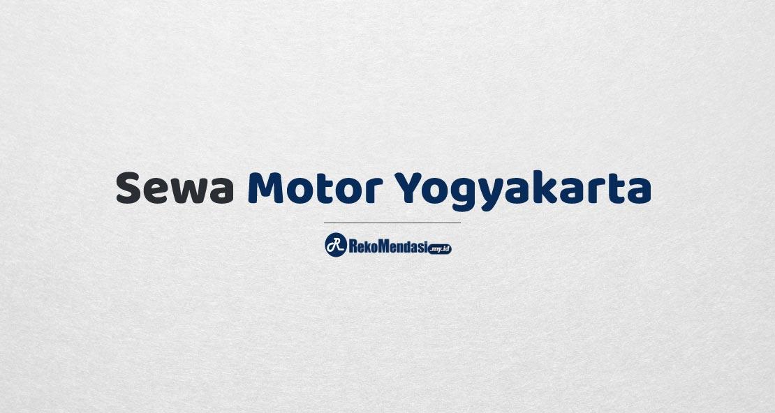 Sewa Motor Yogyakarta